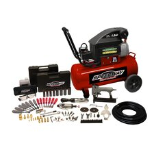 8 Gallon Air Compressor with 77 Piece Kit