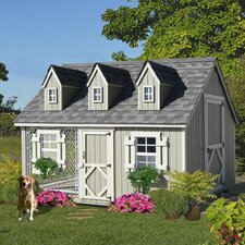 Cape Cod Cozy Cottage Kennel Dog House