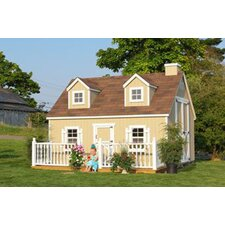 Cape Cod Large Playhouse Kit with No Floor