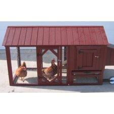Atlanta Chicken Tractor with Chicken Run