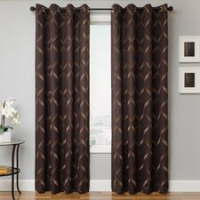 Zina Single Curtain Panel
