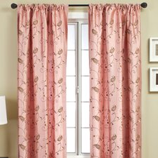 Mattie Curtain Panel in Rose Dust