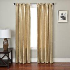 Ariel Stripe Rod Pocket Curtain Single Panel