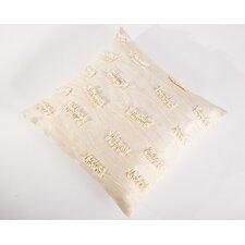 Sea Side Textured Beads Natural/Organic Throw Pillow