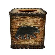 Bear Rustic Tissue Box