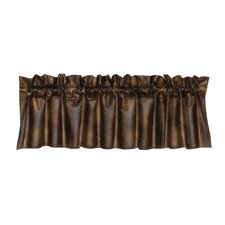"""Faux Leather 84"""" Valance"""