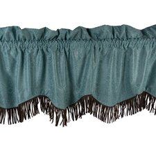 "Cheyenne Fringed 84"" Curtain Valance"