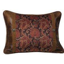 Austin Faux Leather Lumbar Pillow