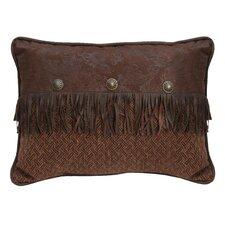 Del Rio Faux Leather Lumbar Pillow