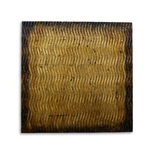 Metallic S Pattern Wall Décor (Set of 16)