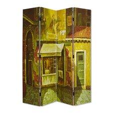 "71"" x 63"" French Quarter 4 Panel Room Divider"