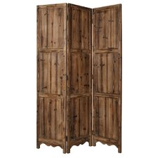 """72"""" x 63"""" Winchester 3 Panel Room Divider"""
