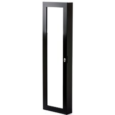 Over the Door or Wall Mount Jewelry Armoire with Mirror