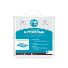Assure Sleep Circle Quilted Waterproof Mattress Pad