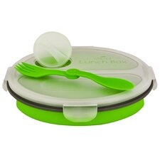 Eco 36 oz. Collapsible Lunch Box with Spork