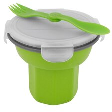 Eco 24 oz. Collapsible Travel Bowl with Spork