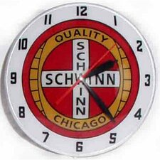"Double Bubble 14.5"" Schwinn Wall Clock"