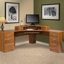 Office Adaptations L-Shape Computer Desk