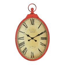 """Casual Country Oversized 27"""" Pocket Watch Wall Clock"""