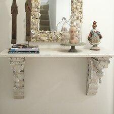 Cottage Chic 3 Piece Wood Wall Cornice Shelf
