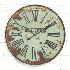 "Country Oversized 41"" Wall Clock"