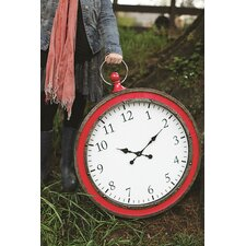 "Heart & Home Oversized 25"" Pocket Watch Wall Clock"