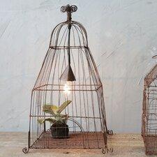 Secret Garden Iron Wire Birdcage 1 Light Pendent