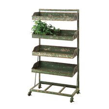 Casual Country Rectangular Plant Stand
