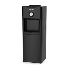Top Loading Hot, Cold, and Room Temperature Free-Standing Water Cooler in Black
