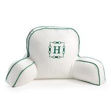 Horsebit Monogram Motif Back Pillow