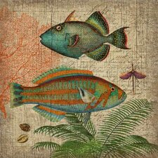 Natural History 2 Wall Art by Suzanne Nicoll Graphic Art Plaque