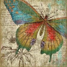 Suzanne Nicoll Butterfly 1 Graphic Art Plaque