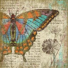 Suzanne Nicoll Butterfly 2 Graphic Art Plaque