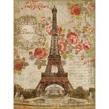 Suzanne Nicoll Dreaming of Paris Graphic Art Plaque