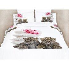 Baby Leopards Duvet Cover Set