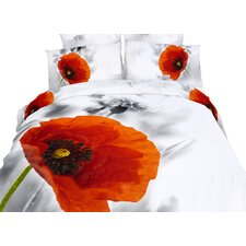 Poppies 6 Piece Duvet Set