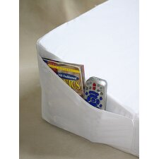 Space Saver Bed Wedge with Pocket