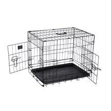 Folding Pet Crate Kennel Wire Cage