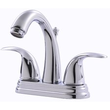 Centerset Bathroom Faucet with Double Handles