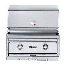 """27"""" Built-In Gas Grill with Rotisserie"""