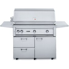 """42"""" Gas Grill with ProSear2-Rotisserie Burner"""