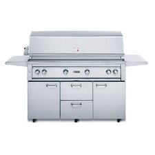 """54"""" Gas Grill with ProSear2-Rotisserie Design"""