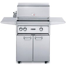 """27"""" Gas Grill with Rotisserie Burner"""