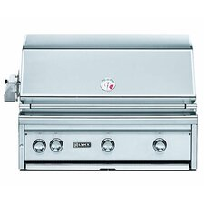 """36"""" Built-In Gas Grill with  ProSear2-Rotisserie Burner"""