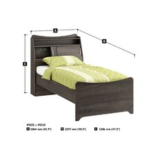 Juvenil Twin Panel Bed