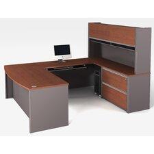 Connexion 1 Piece U-shaped Desk Office Suite