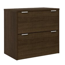 Contempo 2 Drawer Filing Cabinet