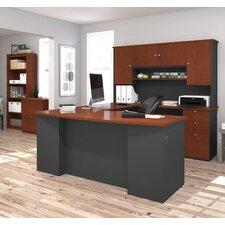 Manhattan 3 Piece U-Shape Desk Office Suite