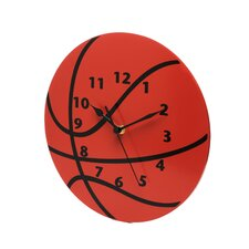 "11"" Basketball Wall Clock"