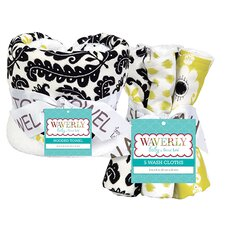 Waverly Rise and Shine Bouquet Hooded 6 Piece Towel Set